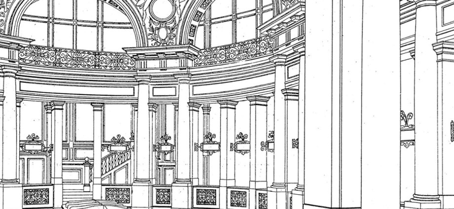 Otto Wagner colouring book featured image
