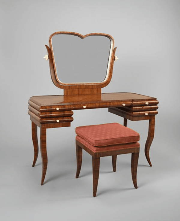 Dressing table ca. 1924 designed by Bruno Paul