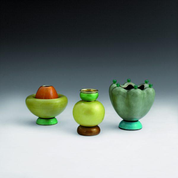 Jacob Prytz ornamental vases
