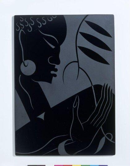 Panel with African motif by Sigmund Pollitzer
