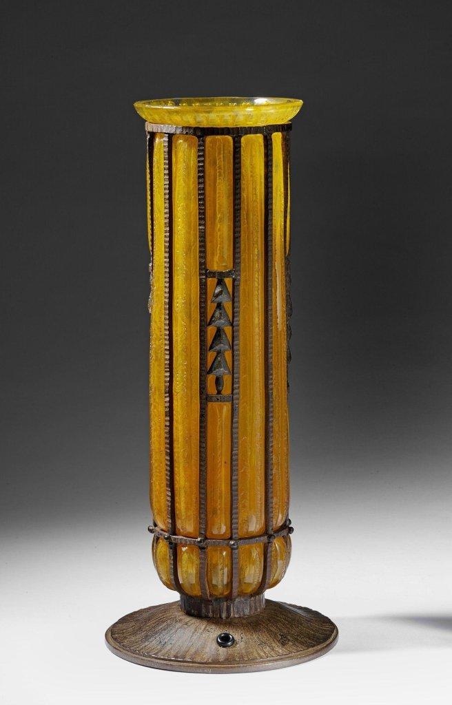Lamp ca. 1925 designed by Louis Majorelle
