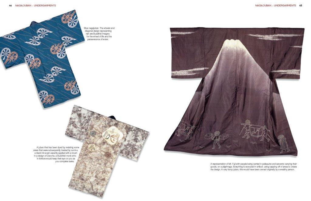 Kimono, Vanishing Tradition: Japanese Textiles of the 20th Century. Page sample