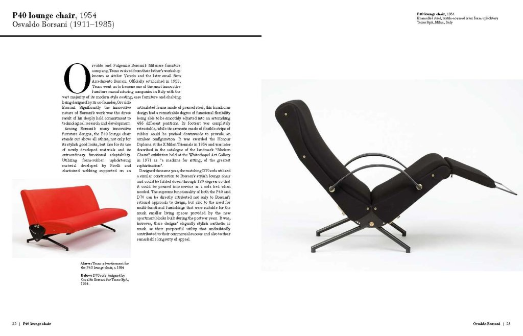 Masterpieces of Italian Design page sample