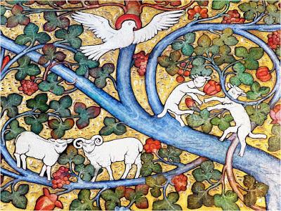 Goats - Anna Traquair Phoebe (1852 - 1936)