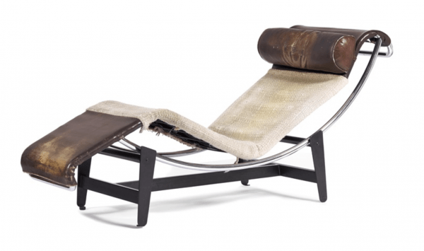 Chaise Longue B306 model (1928) Le Corbusier, Charlotte Perriand and Pierre Jeanneret