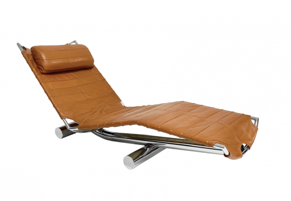 Chariot Chaise designed by Paul Tuttle. https://www.1stdibs.com/
