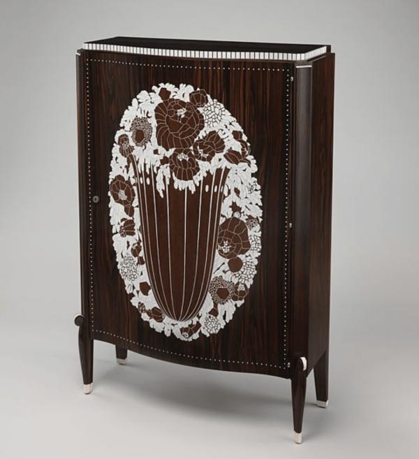 """État"" Cabinet Designed 1922; manufactured 1925–26 by Emile-Jacques Ruhlmann (The Met)"
