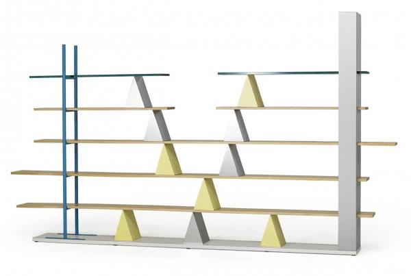 Gritti bookcase, Italy (1981) designed by Andrea Branzi