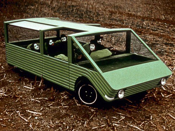"""Kar-a-Sutra"" nonconformist funtionality concept car designed by Mario Bellini"