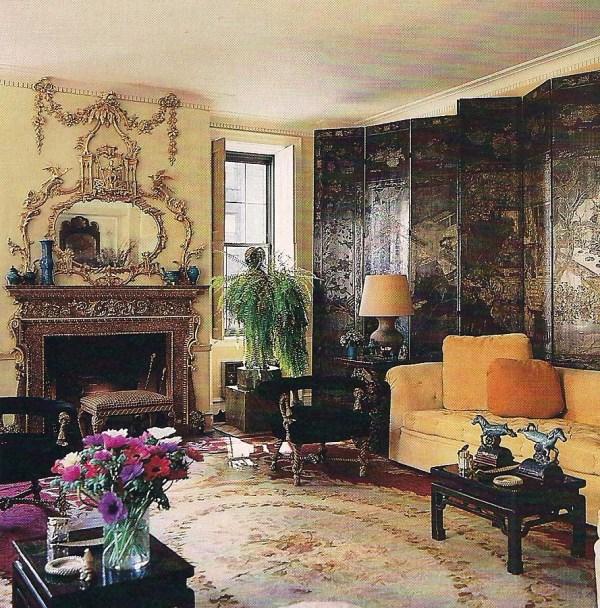 Michael Taylor manhattan living room interior