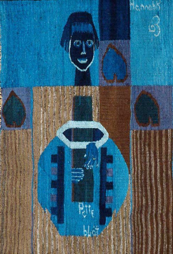 Hannah Ryggen, «Potteblått», 1963 © Hannah Ryggen / BONO