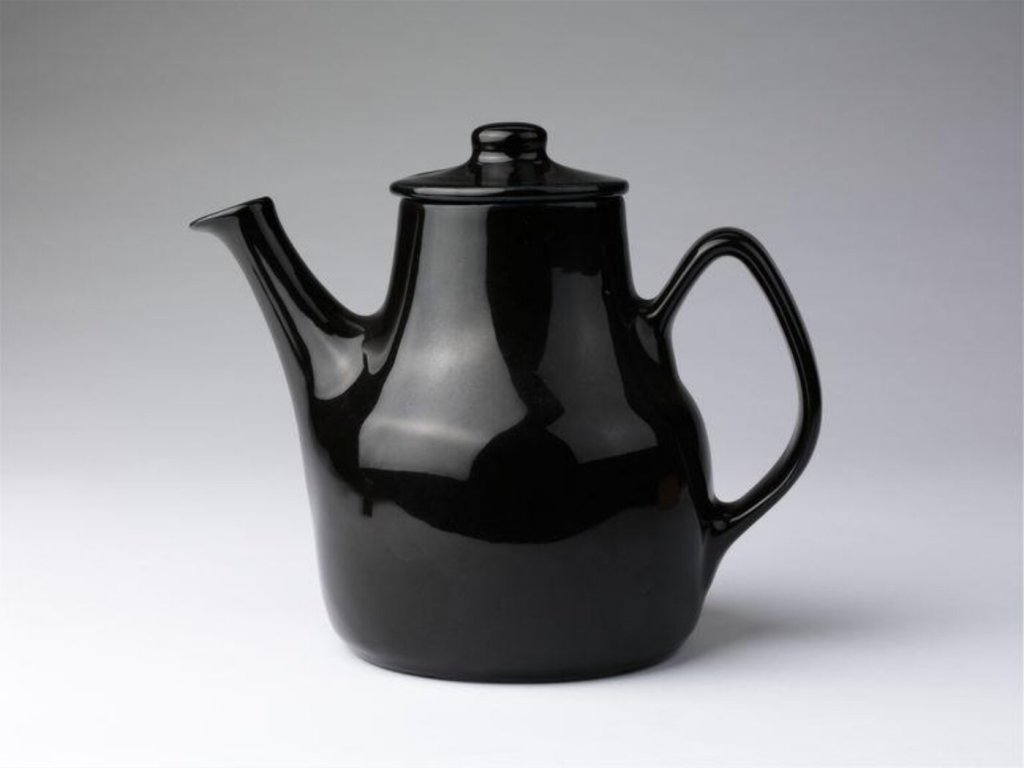Coffee Pot and cover (1951) designed by Eckhoff Tias