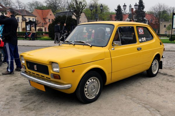 The Fiat 127 from 1971 designed by Pio Manzù