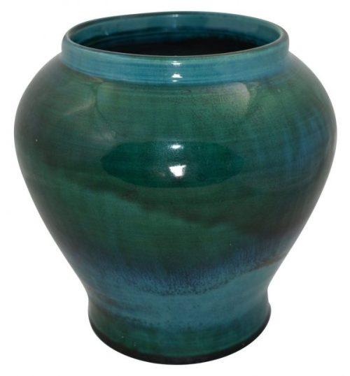 Marblehead Pottery Hand Thrown High Glaze Bulbous Vase