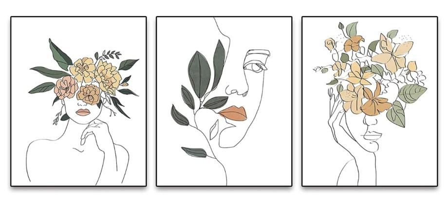 Minimalist prints featured art