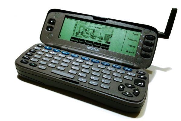 Nokia 9000 communicator opened