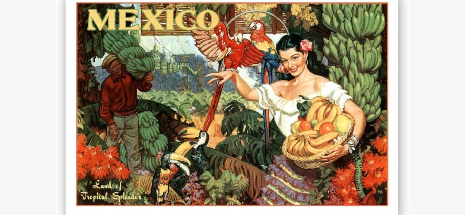 Vintage Travel Poster Mexico featured image-2