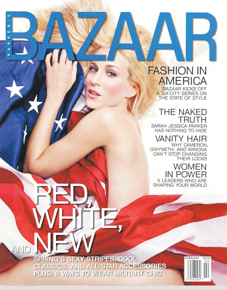 American Fashion page sample