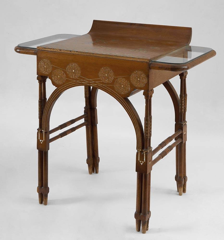 Art Noveau coffee table by Quarti Eugenio