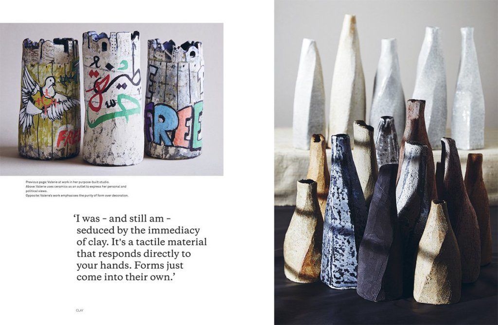 Clay: Contemporary Ceramic Artisans - page sample