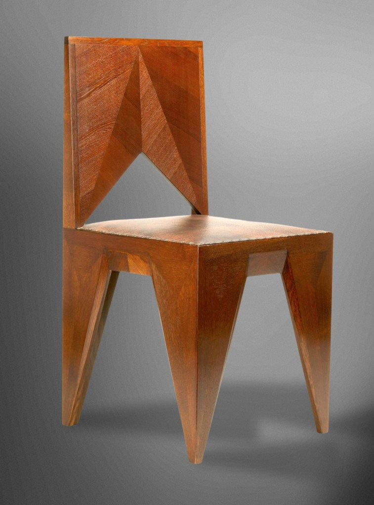 Chair designed by Vlastislav Hofman