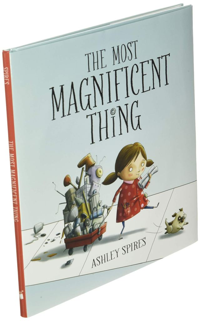 The Most Magnificent Thing cover art