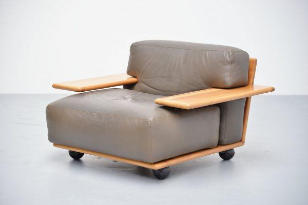 Mario Bellini Pianura lounge chair Cassina Italy 1971