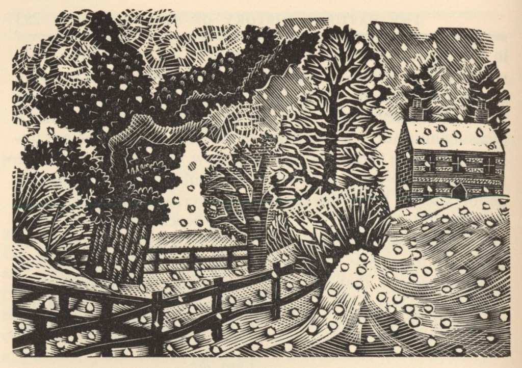 December Snow by Eric Ravilious