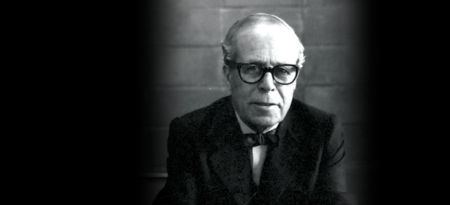 Sigfried Giedion in black and white