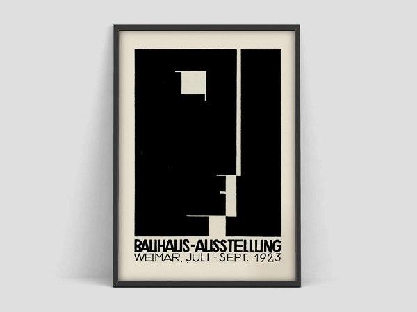 Art Prints Wall Decor Unframed Bauhaus Kunst Ausstellung