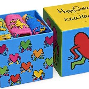 Happy Socks Keith Haring Sock Box Set Asst
