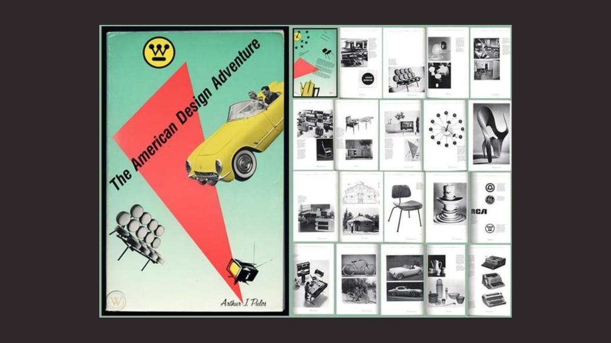 American Design Adventure cover by Arthur Pulos