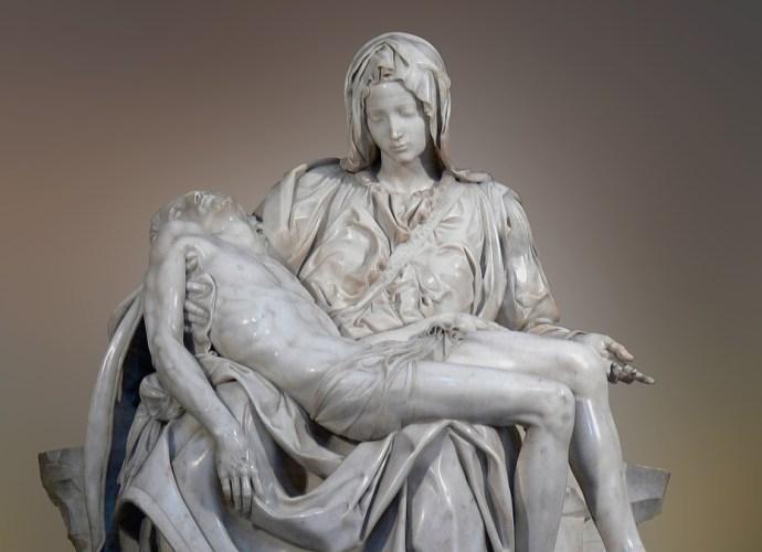 Carrara Marble The Pieta