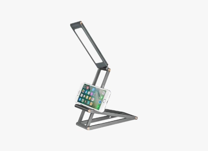 Folding Desk Lamp with USB charging port