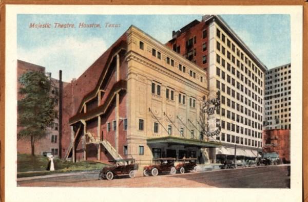 Majestic Theatre Houston Texas designed by John Eberson
