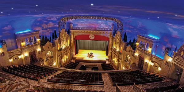 Anderson Paramount Theatre Indiania designed by John Eberson