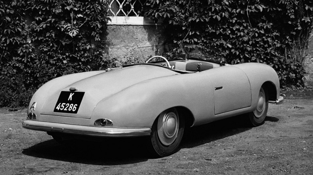 Porsche 356 designed by Erwin Komeda