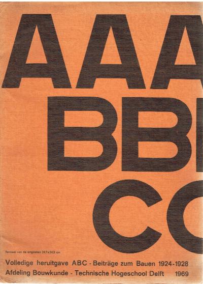 ABC – Beiträge zum Bauen 1924-1928