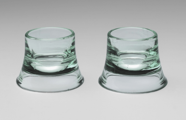 Egg cups, 1938 designed by Wilhelm Wagenfeld