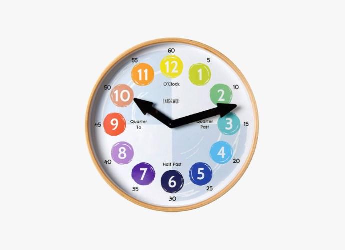Telling Time Teaching Clock