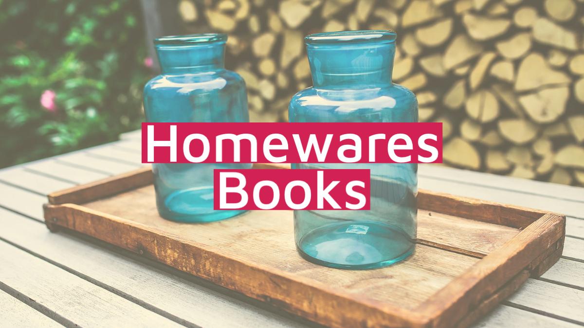 homewares books category