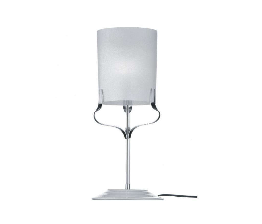 Treforchette table lamp in white by Michele de Lucchi
