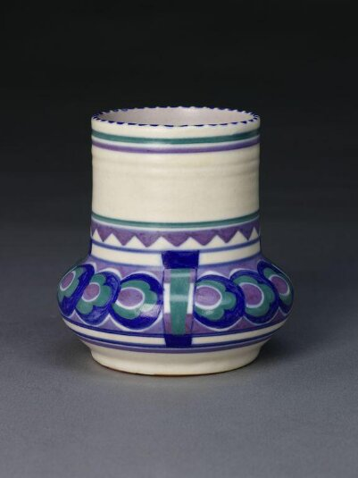 Vase, 1925 - 1936 designed by Minnie McLeish.