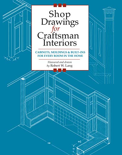 Shop Drawings for Craftsman Interiors: Cabinets. Cover Art