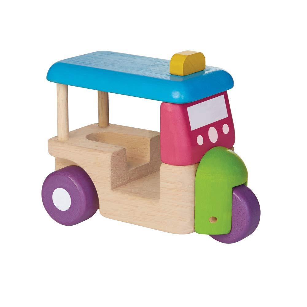 1Amazon Basics Wooden Toy Truck Set