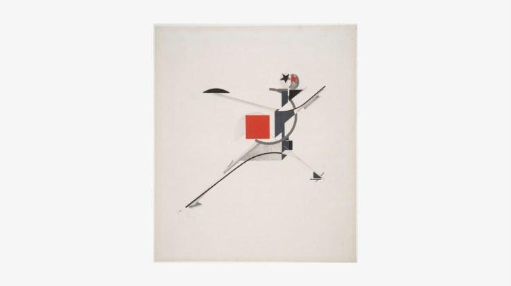 New man, 1923 by El Lissitzky