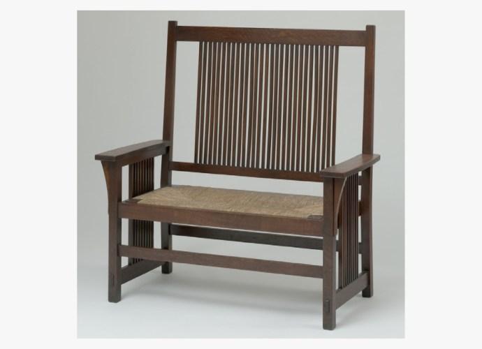 Armchair, 1907 - 1913 designed by Gustav Stickley