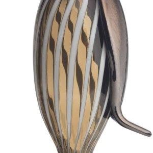 Iittala Figraur Birds by TOIKKA Glass Beige Brown 26 cm
