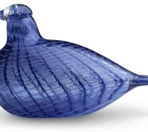 Iittala Birds of Toikka Mouthblown Glass Bird, Blue Bird