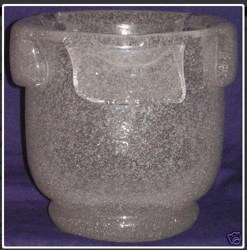 Jean Sala Art Deco Malfin Glass Vase